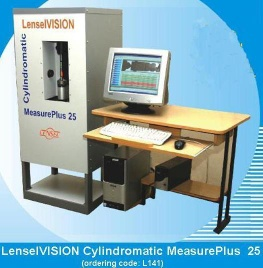 LENSELVISION CYLINDROMATIC MEASURE PLUS25 - Measurment System