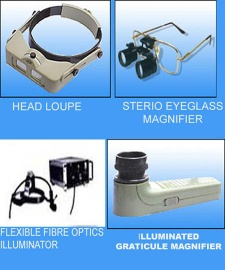 MAGNIFIERS FOR SCIENTIFIC, INDUSTRIAL, COMMERCIAL AND PERSONAL USE  - MAGNIFIERS