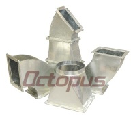 Galvanized HVAC duct - HVAC Duct