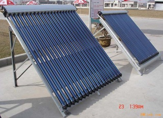 solar collector heatpipe with evacuated tubes(solar keymark certificate) - solar collector