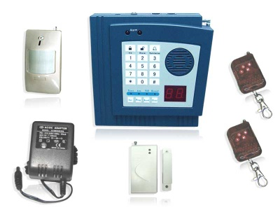 32 Wireless Defense Zone LED Display Burglar Alarm System - SA-I wirless alarm