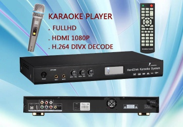 FULL HD Hard disk KARAOKE MACHINE 1080P HDMI H.264 - KTV-868