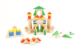 Wooden blocks, Unit blocks, timeless toys, construction blocks - Wooden blocks