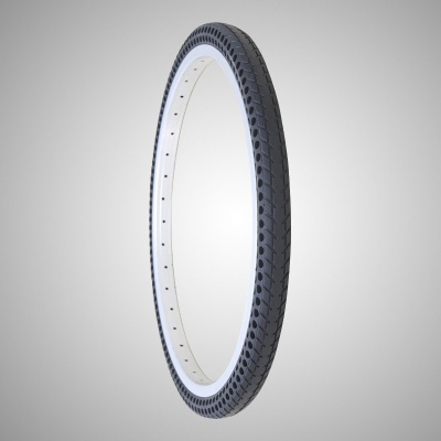 26*1-3/8 Inch Air Free Solid Tire for Bicycle - Nedong26183