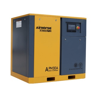 servo motor inverter rotary screw air compressor save power - APM-30A