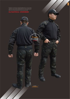 Paintball/Airsoft/Military Camouflage Tactical Uniforms - BT3034/3072