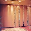 Acoustic Wooden Aluminium Movable Wall Partition - 85 mm movable wall