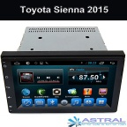 Android Big Screen Car DVD Player GPS Navigation for TOYOTA Sienna 2015 TV Video Audio - 9008