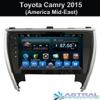 Android Car DVD Player Gps/Glonass Navigation  Toyota Camry 2015(America Mid-East) - 1038