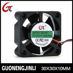 Manufacture selling 12v dc 3010 cooling fan notebook fan with low noise - GNJL3010
