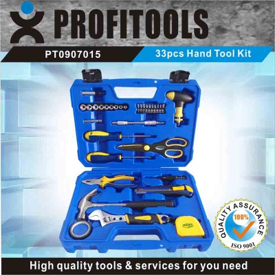 33pcs Hand Tool Kits for Household Tool - PT0907001