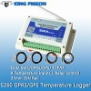 GPRS Data Logger 4 analog inputs 1 relay output support SCADA - S260