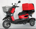 EEC CERTIFICATED THREE WHEEL ELECTRIC SCOOTER MOPED DELIVERY CHINA CHEAP PRICE - SCM-ZWD-CN
