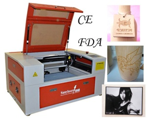 Desktop Mini Laser Engraving Machine with CE FDA - MINI-6040