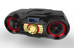 Portable CD Boombox player with FM Radio - FSD-840
