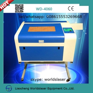 4060 co2 laser engraving cutting machine for nonmetal products - 4060