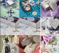 Wedding crystal resin keychain favors - 654654