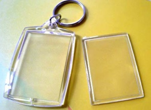 Blank Square Acrylic Keychain 3 - 3