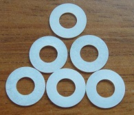 PTFE seal for motorcycle chain 6.3*1.9 - 6.3*1.9