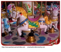 Park attractions amusement rides carousel horse - amusement park rides