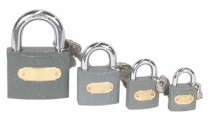 POFIKT IRON GREY PADLOCK - 365