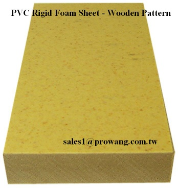 PVC Rigid Foam Sheets - Wooden Pattern 1 - PVC