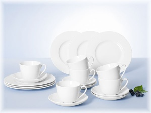 Villeroy&Boch Twist White Basic set 30 pces - 1013808724