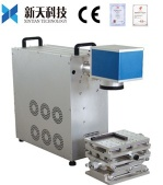 optical fiber portbale laser marking machine for jewellery - XT-F10