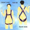 FULL BODY HARNESS , INDUSTRIAL SAFETY BELT , INDUSTRIAL HARNESS - SAV-99