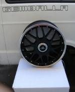 Gemballa 20 Racing Black Edition Wheel  - Gemballa 20 Racing