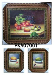 Handmade framed oil painting - PKA07064