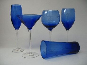 Glass drinking wares - Stemware