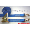 Ratchet tie down, cargo lashing, webbing sling, tow straps - ratchet