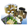 Canned Foods: Canned Asparagus, and Various of Canned Fruits. - Canned Foods
